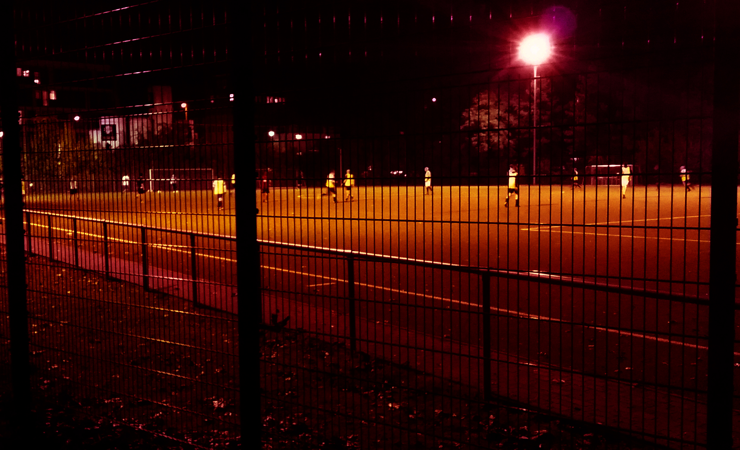 11.00 pm – A house track made from busking and football