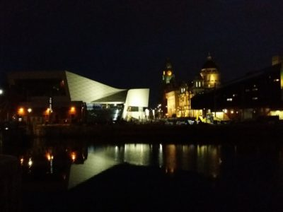 Minimal techno from Albert Dock
