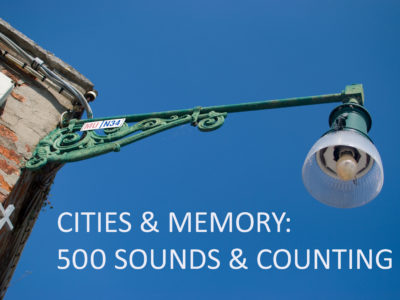 Cities and Memory hits 500 sounds!