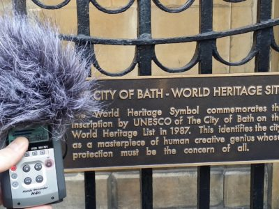 Seven things I learned while sound mapping a city