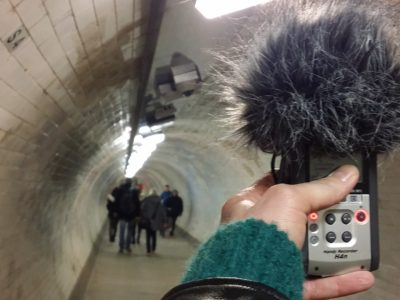 Greenwich foot tunnel: sounds from beneath the Thames