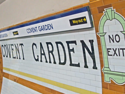 The Next Station… is Covent Garden