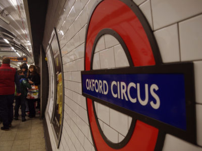 Oxford Circus in sound