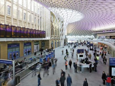 King's Cross bagpipes