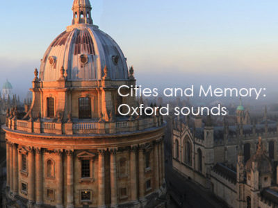 Listen to the Oxford Sounds installation