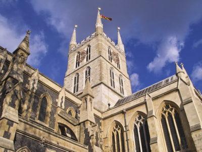 Inside Southwark Cathedral