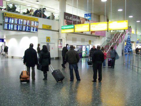 Gatwick arrivals