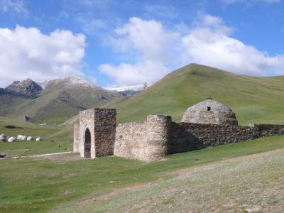 Celestial falcon calls in Kyrgyzstan