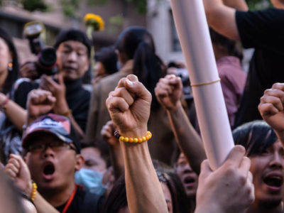 Open call for recordings of protests, demonstrations and politics