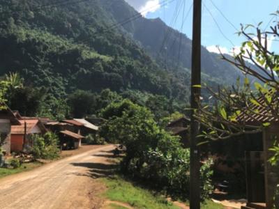 Village life in Laos