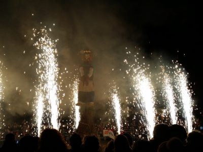 Fireworks in San Martino di Lupari