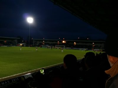 Burton Albion vs. Northampton Town – crowd sounds processed