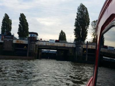 6.30 pm – The floodgates open on a Hamburg boat tour