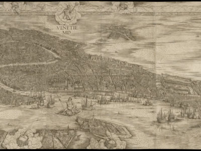 Sound map of Venice from the year 1500