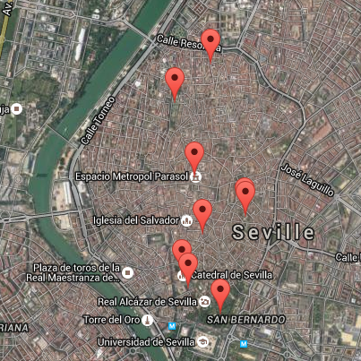 Seville sound map