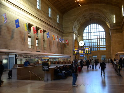 Inside Union Station, Toronto