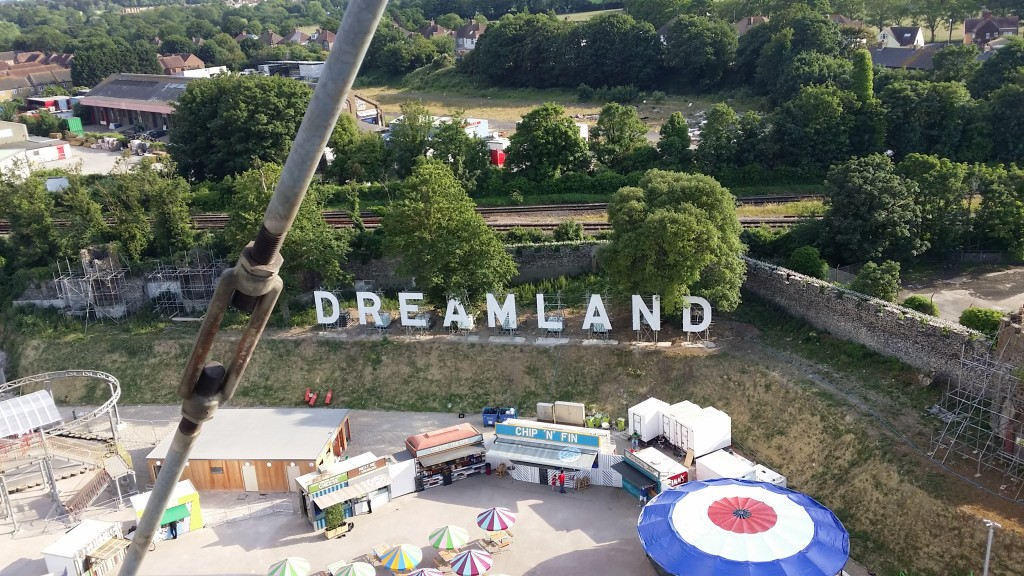 Dreamland from above.