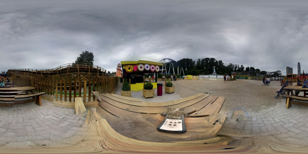 A 360 degree image of the recording location.