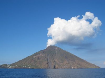 Volcanic sounds from Stromboli