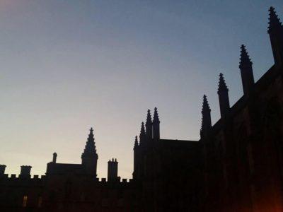 New College, Oxford: celestial drone opera