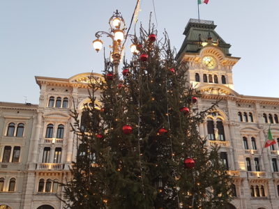 The comforting haze of Christmas in Trieste
