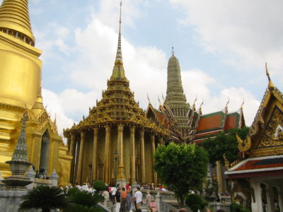 Lèse–majesté in Bangkok's Grand Palace